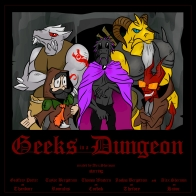 Geeks in a Dungeon cover two