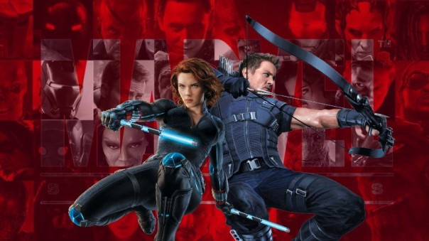 MCU Black Widow and Hawkeye