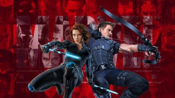 MCU Black Widow and Hawkeye