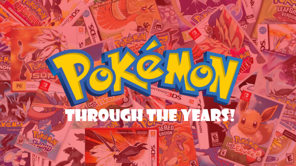 Pokemon through the years